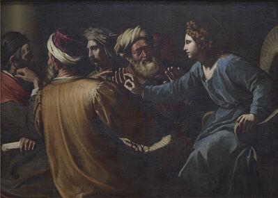 Antiveduto Gramatica, 'Christ disputing with the Doctors', ca. 1613
