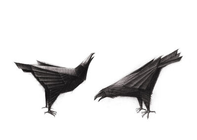 Terence Coventry, 'Ravens', ca. 2011