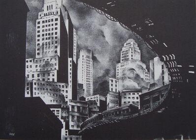 Mark Freeman, 'Second Avenue El', 1932