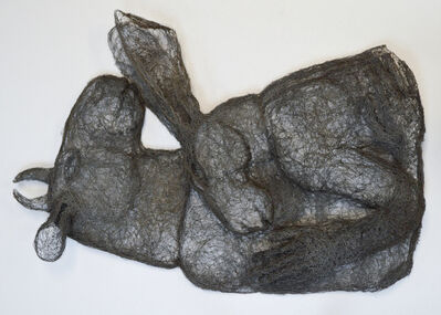 Sophie Ryder, 'Hugging Wall Piece', 2011