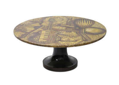 Piero Fornasetti, 'A 1950s circular coffee table', 1950s
