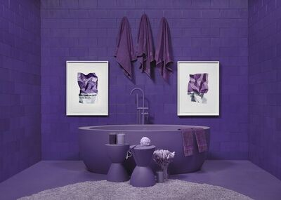 CJ Hendry, 'MONOCHROME Purple', 2018