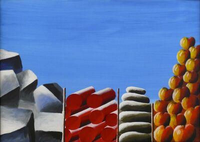Andreas Schulze (b. 1955), 'Proviantlager', 1990