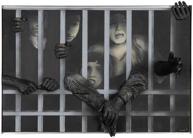 Rafael Canogar, 'Libertad Encarcelada II'