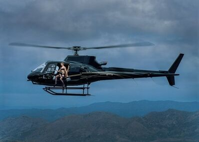Tyler Shields, 'Helicopter', 2021