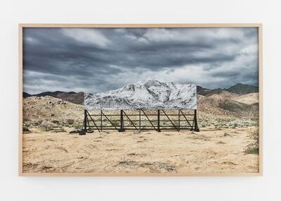 JR, 'Giants, Death Valley, Billboard, Mars 5, 2017, 9:46 am, California, USA', 2017