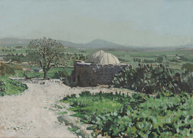 Elie Shamir, 'Jezreel Valley with the Tomb of Sheikh Sirius', 2012
