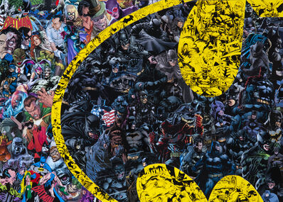 Mr Garcin, 'Batman Logo', 2019