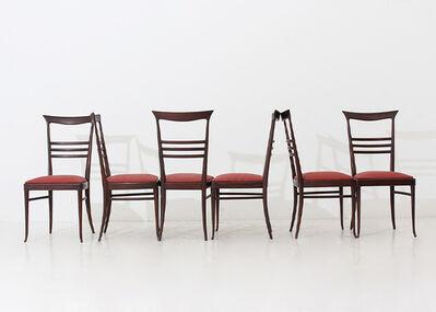 Gio Ponti, 'Set of six chairs by Gio Ponti', 1950-1960