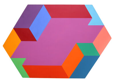 Arthur Boden, 'Hexagon', 1975