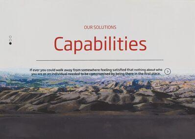 Joel Holmberg, 'Capabilities', 2015