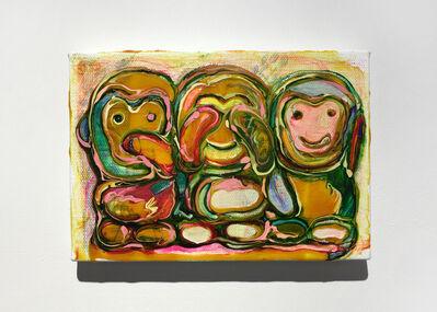 Tomoko Takagi, 'Three Monkeys', 2018
