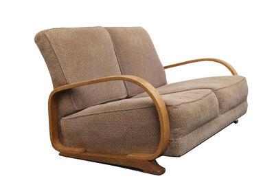 Gilbert Rohde, 'A two seater Art Deco Streamline sofa', circa 1930s