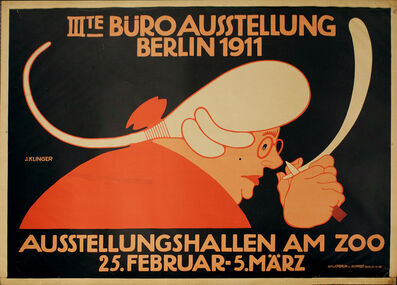 Julius Klinger, 'Poster for the General Exhibition of Office Supplies, Berlin', 1911