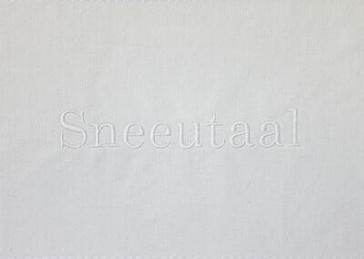 Lien Botha, 'Sneeutaal', 2019