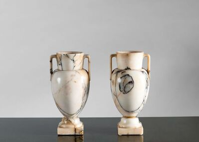 Unattributed, 'Pair of Neoclassical Vases', Italy-late 19th century