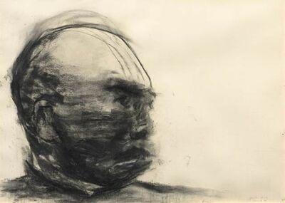 Yan Pei-Ming, 'Portrait anonyme - portrait du père', 1998