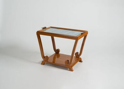 Jules Leleu, 'Two-tiered Side Table with Removable Top', Ca. 1940s