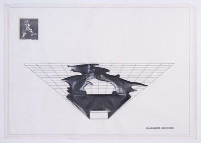 Regina Silveira, 'In Absentia (Boccioni)', 1982