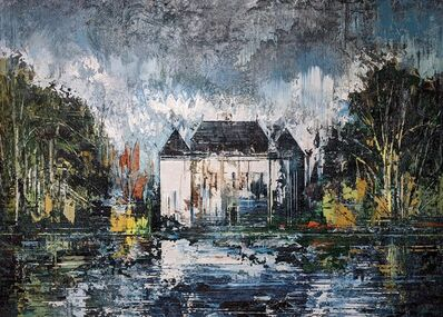John Monks, 'House by the Lake', 2020