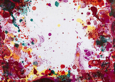 Sam Francis, 'Yunan (State IV)', 1971