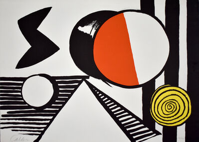 Alexander Calder, 'The S and the O | Le S et le O', 1969