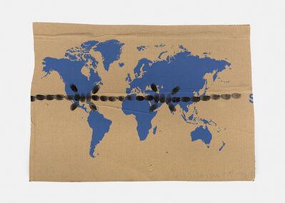 Mircea Cantor, 'Chapelet (Carte du monde)', non daté