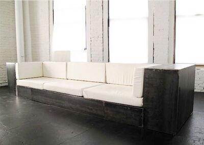 Bernar Venet, 'Stell Sofa', 1998