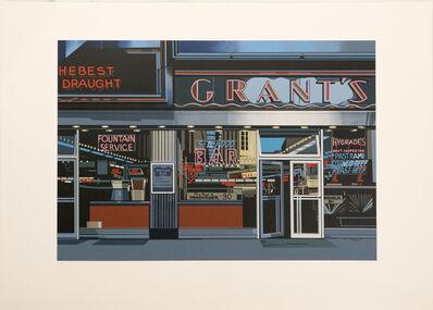 Richard Estes, 'Grants, from the Urban Landscapes I portfolio', 1972