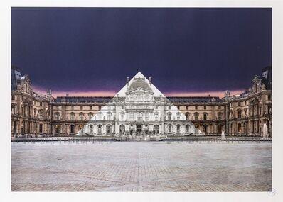 JR, 'Le Louvre Night', 2018