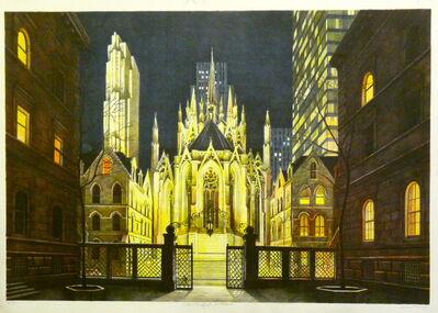 Richard Haas, 'Villard Courtyard, St. Patrick's Cathedral Ed. 3/10 A/P', 1983