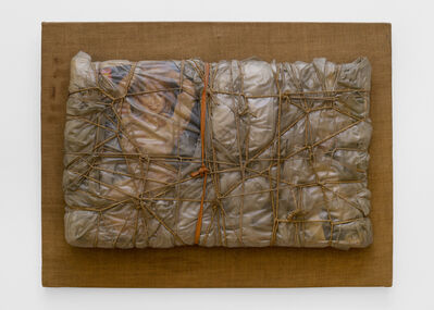 Christo, 'Wrapped objects', 1963