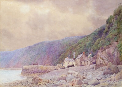 Anna Richards Brewster, 'The Quay, Clovelly', 1897
