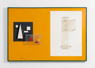 Carlos Cairoli, 'Temps-espaces complémentaires', 1955