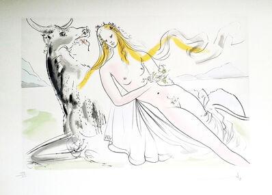 Salvador Dalí, 'New Mythological Suite/ Enlèvement d'Europe', 1971