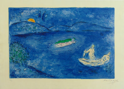 Marc Chagall, ' Echo, from: Daphnis and Chloe | L'Echo', 1961