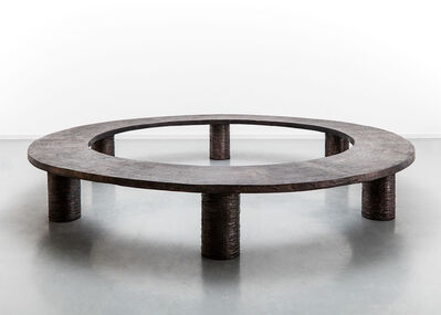 Michele Oka Doner, 'Bench 'Ice Ring'', 1989