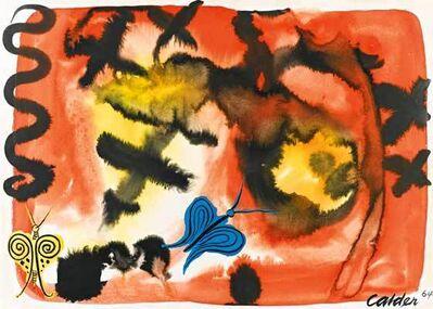 Alexander Calder, 'Butterflies', 1964