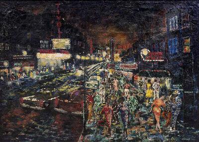 Wadsworth Jarrell, 'Neon Row', 1958