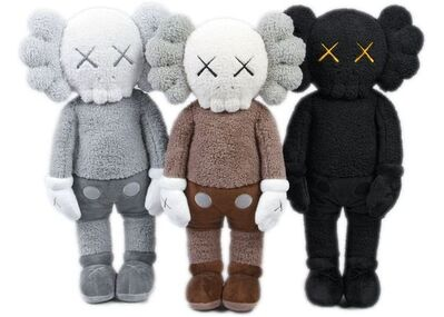 KAWS, 'Holiday Set of 3', 2019
