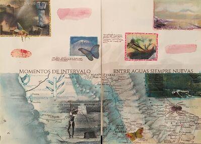 Rafael Hastings, 'Momento de intervalo. Entre aguas siempre nuestras. De la serie Dibujos mentales', 1967-1978 / 2016