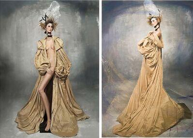 Efren Isaza, 'Yves Coat I and Yves Coat II (Diptych)', 2010