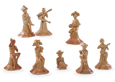 George Tinworth, 'George Tinworth For Doulton Lambeth Figurines', late 19th c.