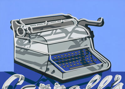 Stephanie Schechter, 'Carroll's Typewriter', 2020