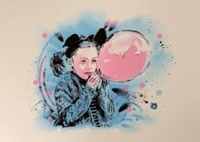 C215, 'La Fille au Ballon', ca. 2018