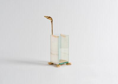 "Aldus, '""Lantern,"" Bronze and Glass Candleholder', 2013"
