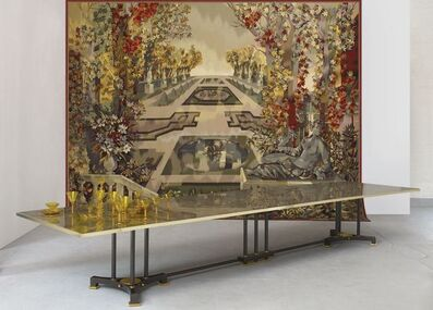 Maison Leleu, 'Exceptional Dining Table', 1957