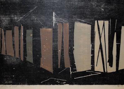 Jim Steg, 'Shoreline at Night', 1957