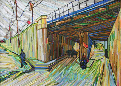 Kyu-Hak Lee, 'Monument- Railway Bridge', 2013
