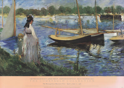 Édouard Manet, 'Banks of the Seine at Argenteuil', 1986